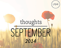 Fall Into Inspiration / September 2014