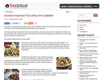 Blogging for FoodCloud.in