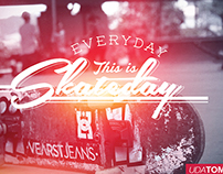 Everyday this is Skateday.