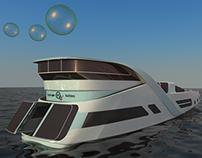 Hydrogen Bubbles - Hydrogen Powered Yacht