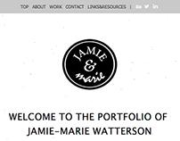 JAMIE&marie Responsive Redesign