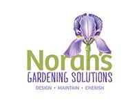 Norah's Gardening Solutions - Logo Design