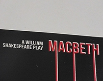 Macbeth Book Cover Designs (Screen-prints)