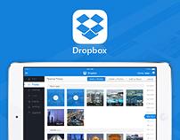 Dropbox iPad App Design Concept