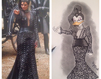 Evil duck queen and Wicked duck witch