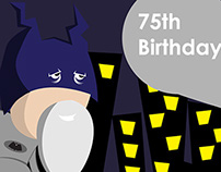 Batman 75 Birthday