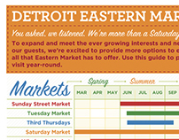 Seasonal Market Schedule