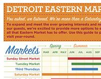 Seasonal Market Schedule