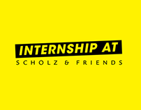 Internship at Scholz & Friends