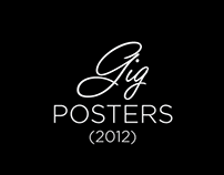 Gig Posters // 2012