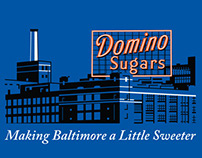 Domino Sugars T-Shirt Design