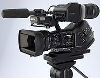 Sony XDCAM-EX HDCAM camera - CGI