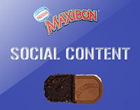Maxibon social content
