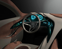 2025 HYUNDAI GENESIS INTERIOR MAYA MODEL