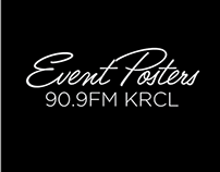 90.9FM KRCL // Events