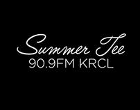 Summer Tee // 90.9FM KRCL