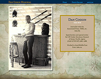 Dan Coggin Memorial Web Site Design