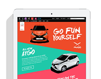 Channel 4 Toyota Aygo Takeover