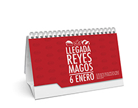 Calendario Casa Lopez 2014