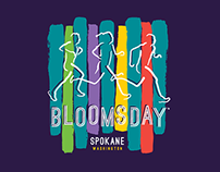 Bloomsday 2014 - Trade Show Souvenir shirt design.