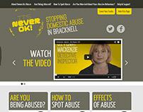 It's Never OK campaign
