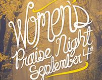 WOMEN'S PRAISE NIGHT