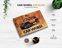 Car Wheel Catalog Design