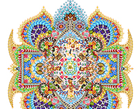 Emoji Mandala no.2