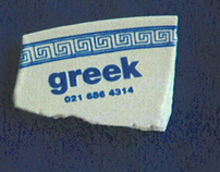 GREEK Business Card