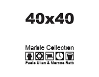 """""""40x40"""" marble collection"""
