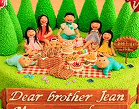 Family Picnic  Cake