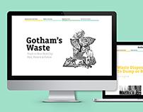 Gotham's Waste Website