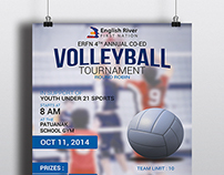 VolleyBall Poster for ERFN