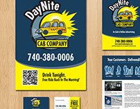 DayNite Cab Company Advertising Collection