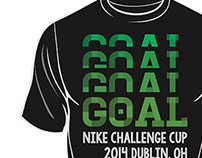 2014 Dublin Nike Challenge Cup T-Shirts
