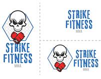 Strike Fitness Logo Concept