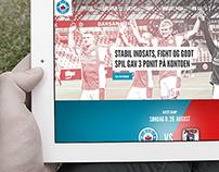 Football website (pitch)