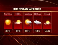 Vizrt Kurdsat 1 News @ 9 HD Graphics.