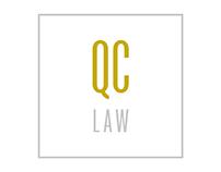 QC Law Firm Logo Design