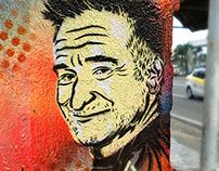 Street Art: Remembering Robin Williams