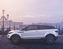 3D model of Land Rover EVOQUE