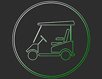 Iconset for golf-lovers