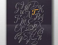 """Some random calligraphic letters"""