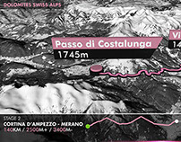 3D Maps - HAUTE ROUTE 2014