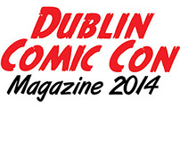 Dublin Comic Con Magazine 2014 design