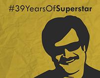 #39YearsOfSuperstar