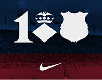 100 años de equipación Blaugrana