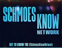 Schmoes Know Network logo/promo