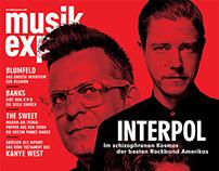 INTERPOL for Musikexpress