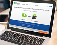 QuickBooks Self-Employed Marketing Website